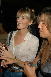 LADY EMILY COMPTON at a party hosted by Frankie Dettori, Marco Pierre White and Edward Taylor to celebrate the launch of Frankie's Italian Bar & Grill at 3 Yeoman's Row, London SW3 on 2nd September 2004.