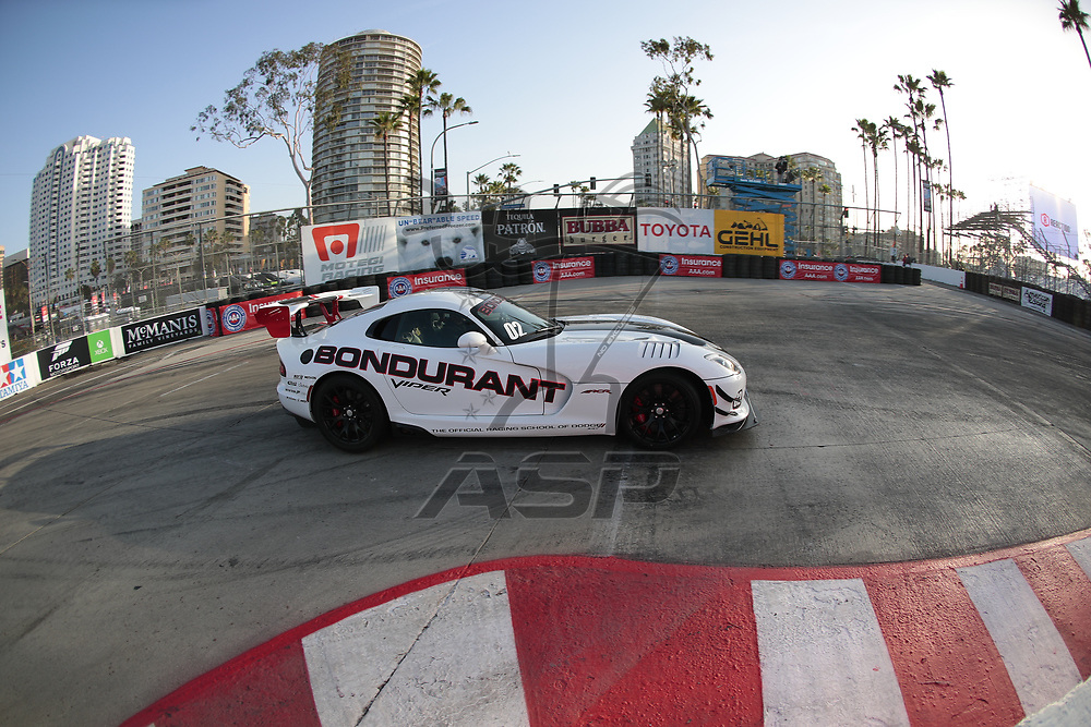 April 13, 2018 - Long Beach, California, USA:  The IMSA WeatherTech SportsCar Championship practice for the Bubba Burger Sports Car Grand Prix At Long Beach at Streets of Long Beach in Long Beach, California.