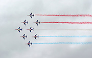 Aerobatics team at the le Bourget Air show, Paris, France