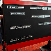 Tall Order TEDx Seattle 2018. Interplay Word Wall. Photo by Alabastro Photography.