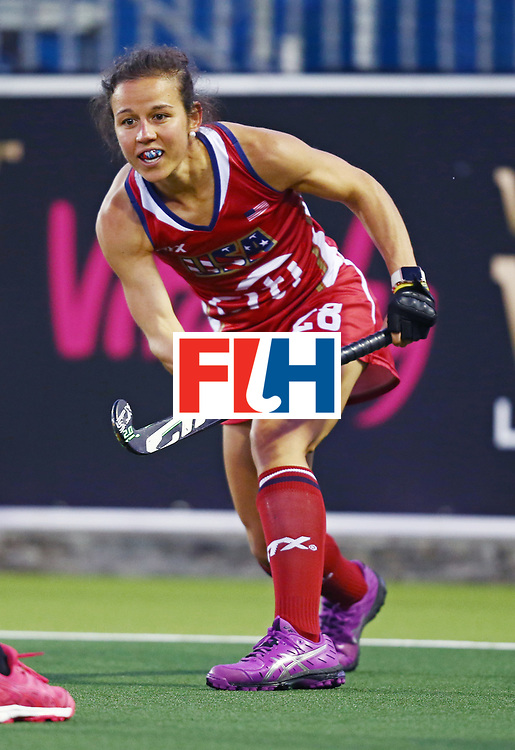 New Zealand, Auckland - 20/11/17  <br /> Sentinel Homes Women&rsquo;s Hockey World League Final<br /> Harbour Hockey Stadium<br /> Copyrigth: Worldsportpics, Rodrigo Jaramillo<br /> Match ID: 10300 - NZL vs USA<br /> Photo: (28) van SICKLE Caitlin
