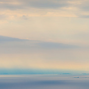 Hyskier Lighthouse from An Sgurr, Isle of Eigg