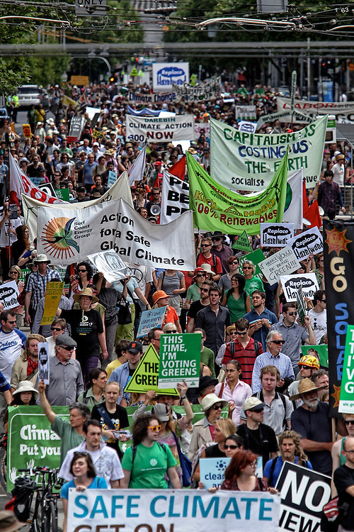 State election rally calling on all political parties to commit to replace ALL of Hazelwood, Australia?s dirtiest power station, and move Victoria to a renewable energy powered future. - Pic By Craig Sillitoe 06/11/2010 melbourne photographers, commercial photographers, industrial photographers, corporate photographer, architectural photographers, This photograph can be used for non commercial uses with attribution. Credit: Craig Sillitoe Photography / http://www.csillitoe.com<br />
