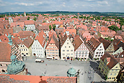 Market Square, seen from Rathausturm (City Hall Tower)...M.S. Johann Strauss, a brand new four star+ river cruiser operated by Austrian River Cruises, and chartered by Club 50 (a travel agency especially for seniors aged 50 and up) undertook an epic 3-week journey (May 21 to June 10, 2004) all the way from Amsterdam to the Black Sea?along Rhine, Main and Danube?, presumably the first passenger vessel ever to have done so. This is one of the images recorded during this historic voyage.