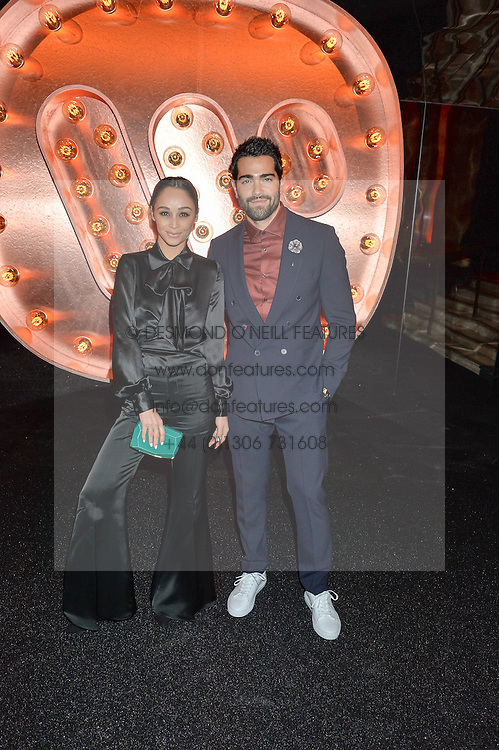 CARA SANTANA and JESSE METCALFE at the Warner Music Group & Ciroc Vodka Brit Awards After Party held at The Freemason's Hall, 60 Great Queen St, London on 24th February 2016.