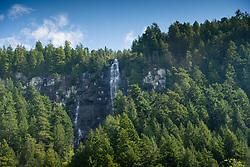 Freil Falls, Hotham Sound, Sunshine Coast, British Columbia, Canada
