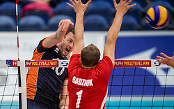 24-09-2016 NED: EK Kwalificatie Nederland - Wit Rusland, Koog aan de Zaan<br /> Nederland verliest de eerste twee sets / Jeroen Rauwerdink #10