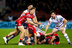 Callum Braley of Gloucester Rugby - Mandatory by-line: Robbie Stephenson/JMP - 16/11/2018 - RUGBY - Kingsholm - Gloucester, England - Gloucester Rugby v Leicester Tigers - Gallagher Premiership Rugby
