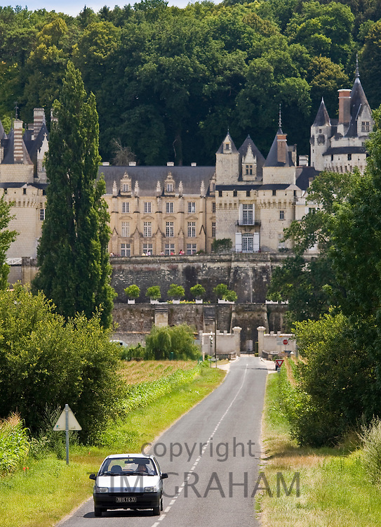 Chateau d'Usse at Rigny Usse in the Loire Valley, France