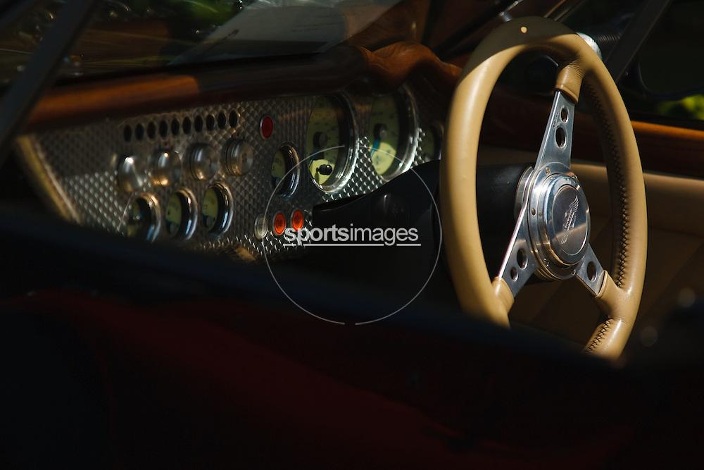 Morgan interior at Gloucester Motorshow (13/06/10)