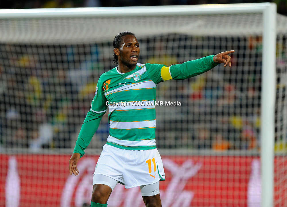 Didier Drogba of Ivory Coast