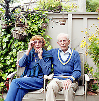 "Willard and Ruth Smith, at their home in Walnut Creek, Ca., on Wednesday, May 11, 2011. The Smith's were scammed for their pension when an unaccredited businessman started managing Mr. Smith's federal veteran benefits under the guise of ""Veteran's Benefits, Inc."""