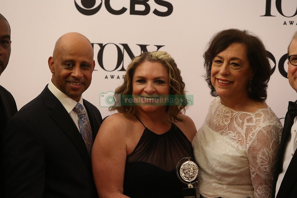 June 11, 2017 - New York City, New York, United States - The 71st Annual Tony Awards took place in Radio City Music Hall, honoring the best in Broadway Stage, drama, musical and comedy. Winners appeared before the press for post-awards pictures and interviews. (Credit Image: © Andrew Katz/Pacific Press via ZUMA Wire)