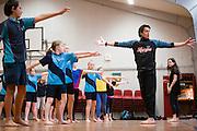 APO Dance Project, Te Manu Ahi rehearsals.<br /> Northcote Intermediate