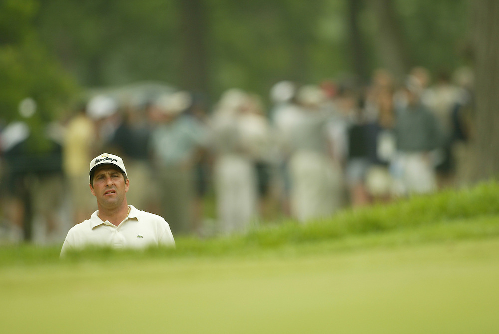 Jose Maria Olazabal..2003 U.S. Open..Second Round..Olympia Fields CC..Chicago, IL..Friday June 13 2003..photograph by Darren Carroll