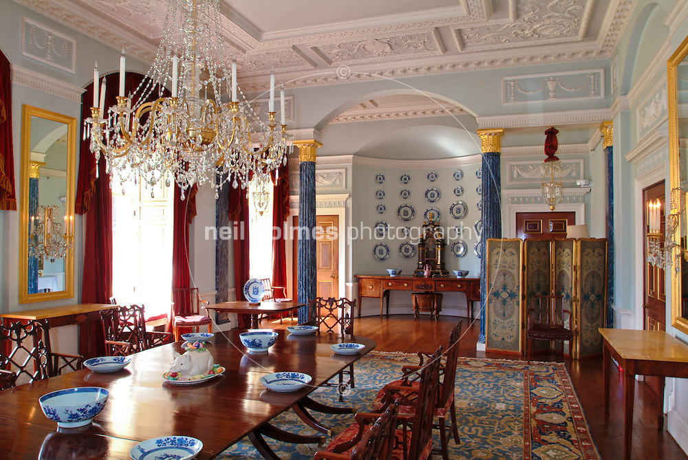Sledmere house Dining room.