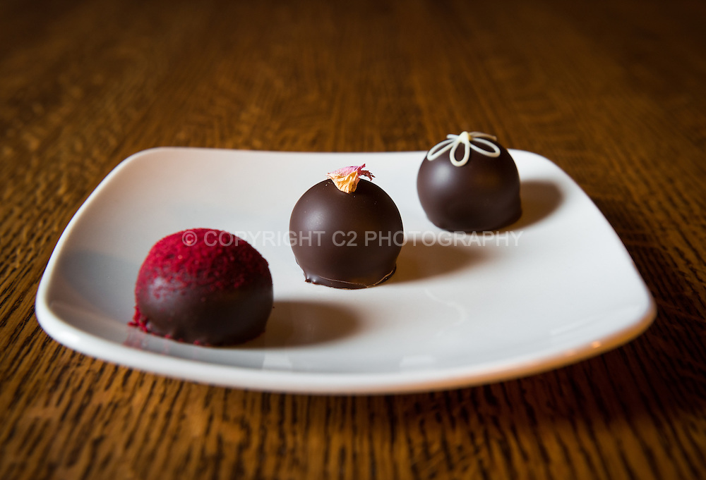 Truffles at the French Broad Chocolate Lounge.