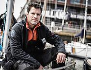 20-05-2018: Zeilen: The North Sea Regatta: Scheveningen<br /> <br /> (L-R) Zeiler Bram Adema na afloop van de North Sea Regatta in de haven van Scheveningen<br /> <br /> Foto: Gertjan Kooij