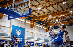 Stavrov Andrej of Slovenia during basketball match between National teams of Turkey and Slovenia in the SemiFinal of FIBA U18 European Championship 2019, on August 3, 2019 in Nea Ionia Hall, Volos, Greece. Photo by Vid Ponikvar / Sportida
