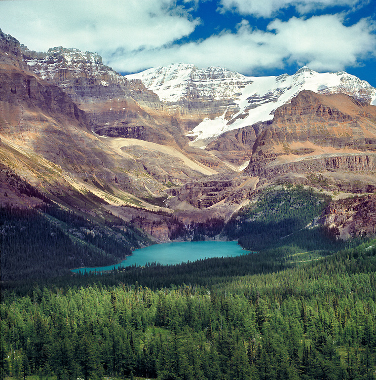 Lake O'Hara is one of the jewels of Yoho National Park, in British Columbia, Canada. ©Ric Ergenbright