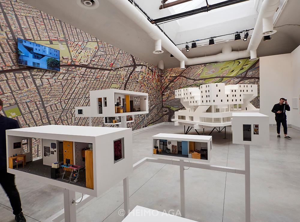 """FREESPACE - 16th Venice Architecture Biennale. Michael Maltzan Architecture, """"Star Apartments""""."""