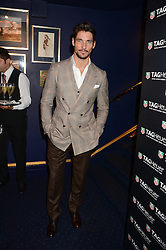 DAVID GANDY at the launch of TAG Heuer's new Aquaracer in the presence of long term friend of the brand Bo Derek held at Tramp, Jermyn Street, London on 8th October 2013.