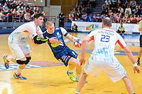 Dejan Malinovic - 08.04.2015 - Creteil / Montpellier - 20eme journee Division 1<br /> Photo : Anthony Dibon / Icon Sport