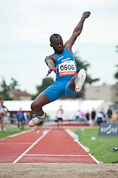 KOUTIKI TSILULU Ruud, ITA, Long Jump, T20, 2013 IPC Athletics World Championships, Lyon, France