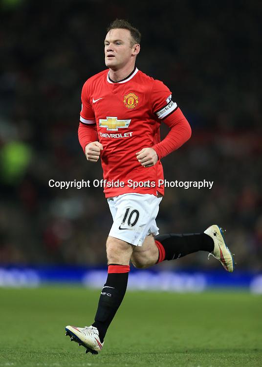 11th February 2015 - Barclays Premier League - Manchester United v Burnley - Wayne Rooney of Man Utd - Photo: Simon Stacpoole / Offside.