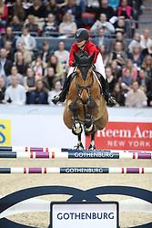 Hugyecz, Mariann (HUN), Chacco Boy<br /> Göteborg - Horse Show FEI World Cup Final 2016 <br /> FEI Weltcup Finale III, 1. Runde<br /> © www.sportfotos-lafrentz.de / Stefan Lafrentz
