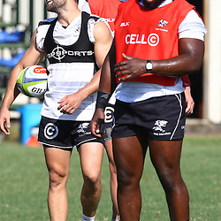 DURBAN, SOUTH AFRICA, 22 January 2016 - Cobus Reinach during The Cell C Sharks Pre Season training for the 2016 Super Rugby Season at Growthpoint Kings Park in Durban, South Africa. (Photo by Steve Haag)<br /> images for social media must have consent from Steve Haag