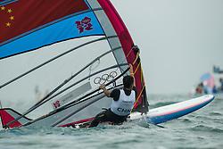 2012 Olympic Games London / Weymouth<br /> RSX man racing day 1 <br /> RS:X MenCHNWang Aichen