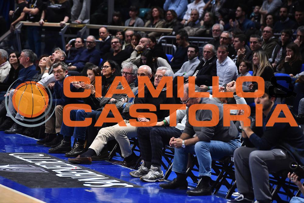 Campionato Italiano Basket 2017/18<br /> 18&deg; Giornata Ritorno  <br /> Bologna 03/02/2018   <br /> Segafredo Virtus Bologna - VL Pesaro 85-67<br /> Nella foto Baraldi Zanetti <br /> Foto GiulioCiamillo/Ciamillo-Castoria