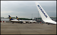 Ryanair At Stansted Airport