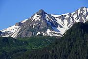 Peaks near Seward Alaska
