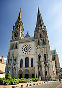 Chartres Cathedral and Town of Chartres, France