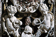Palermo, &quot;Del Gesu'&quot; church, baroque art.<br /> Palermo, Chiesa del Ges&ugrave;, arte barocca.