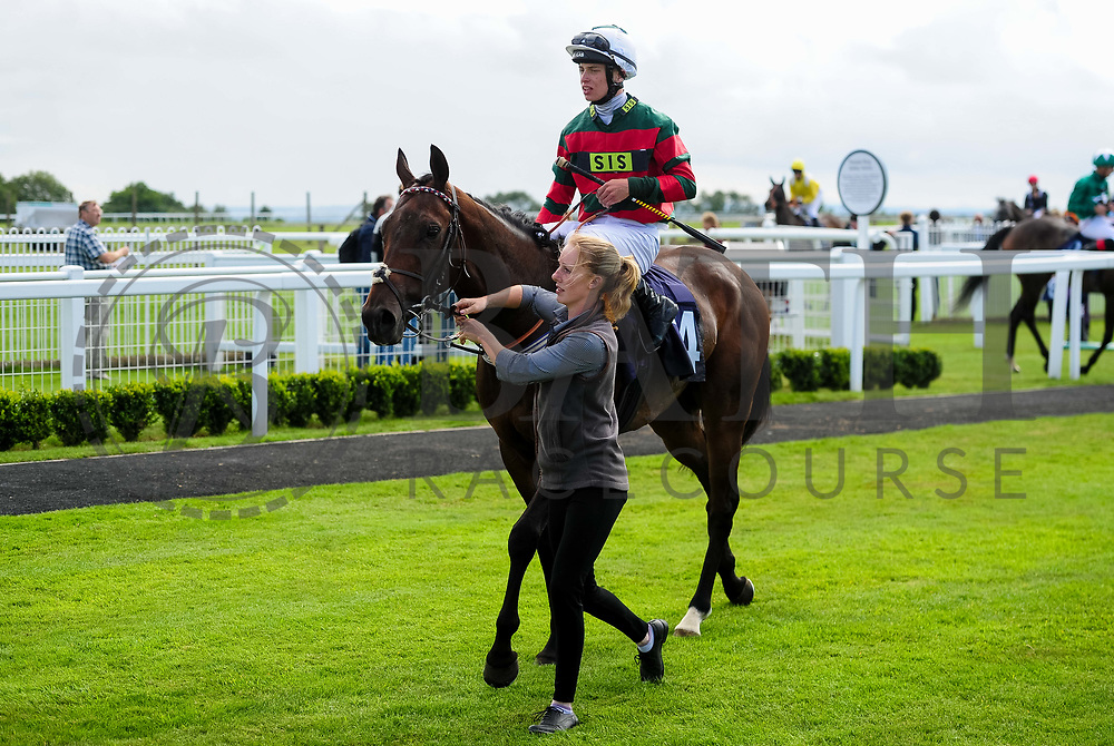 Clipsham Tiger ridden by George Rooke and trained by Michael Appleby in the Sky Sports Racing Virgin 535 Handicap (Class 6) race. - Ryan Hiscott/JMP - 07/08/2019 - PR - Bath Racecourse - Bath, England - Race Meeting at Bath Racecourse