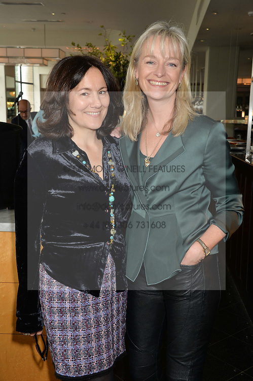 Left to right, LILY POLLOCK and KATIE RABETT at a ladies lunch in aid of the charity Maggie's held at Le Cafe Anglais, 8 Porchester Gardens, London on 29th April 2014.