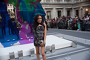 Dionne Bromfield, Royal Academy of Arts Summer Exhibition Preview Party 2011. Royal Academy. Piccadilly. London. 2 June <br /> <br />  , -DO NOT ARCHIVE-© Copyright Photograph by Dafydd Jones. 248 Clapham Rd. London SW9 0PZ. Tel 0207 820 0771. www.dafjones.com.