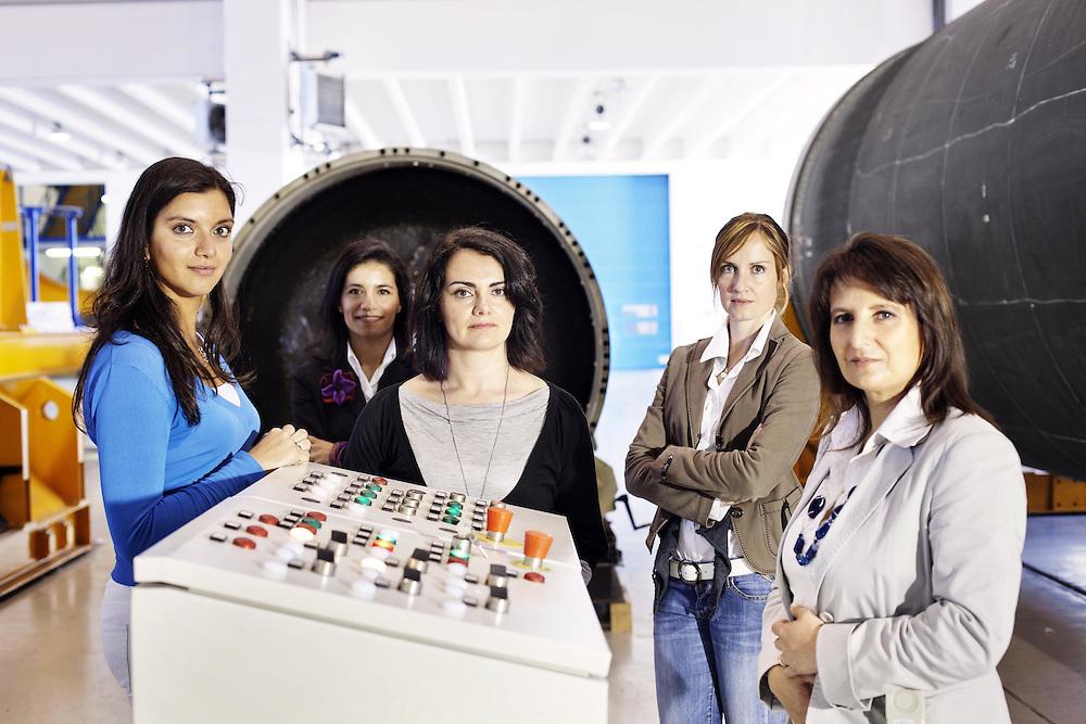 Donne ingegnere progetto Vega<br /> <br /> Women Engineers project vega