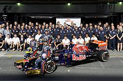 24.11.2011, Autodromo Jose Carlos Pace, Sao Paulo, BRA, F1, Grosser Preis von Brasilien, im Bild Sebastien Buemi (SUI), Scuderia Toro Rosso - Jaime Alguersuari (ESP), Scuderia Toro Rosso // during the Formula One Championships 2011 Grand Prix of Brazil held at the Autodromo Jose Carlos Pace, Sao Paulo, Barzil on 2011/11/24..***** ATTENTION - OUT OF GER, CRO *****