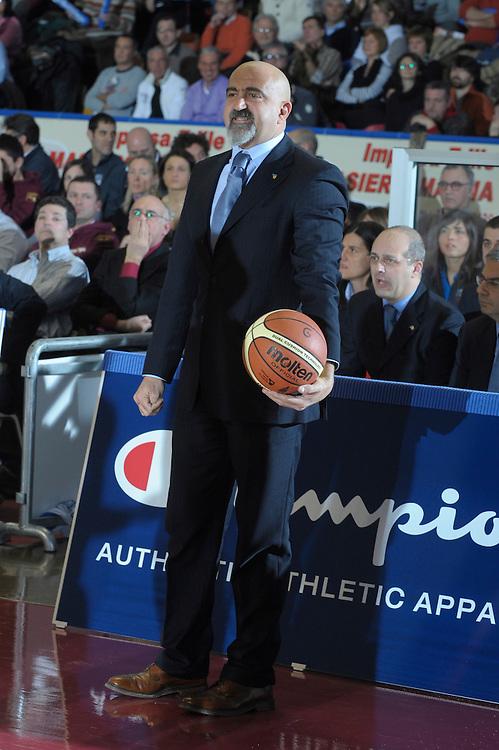 DESCRIZIONE : Venezia Additional Qualification Round Eurobasket Women 2009 Italia Croazia<br /> GIOCATORE : Giampiero Ticchi<br /> SQUADRA : Nazionale Italia Donne<br /> EVENTO : Italia Croazia<br /> GARA :<br /> DATA : 10/01/2009<br /> CATEGORIA : Ritratto<br /> SPORT : Pallacanestro<br /> AUTORE : Agenzia Ciamillo-Castoria/M.Gregolin