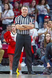 NORMAL, IL - February 16:  Gene Grimshaw during a college basketball game between the ISU Redbirds and the Bradley Braves on February 16 2019 at Redbird Arena in Normal, IL. (Photo by Alan Look)