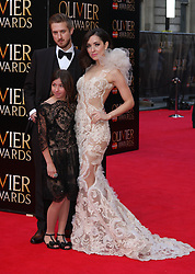 ZRINKA CVITESIC attends The Laurence Olivier Awards at the Royal Opera House, London, United Kingdom. Sunday, 13th April 2014. Picture by i-Images