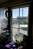 View from a shop in the historic Onslow County town.