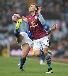 - Photo mandatory by-line: Alex James/JMP - Mobile: 07966 386802 - 15/02/2015 - SPORT - Football - Birmingham - Villa Park - Aston Villa v Leicester City - FA Cup - Fifth Round