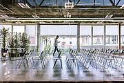 Milan, Talent Garden coworking company. meeting room