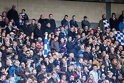 Falkirk fans..Hibernian 4 v 3 Falkirk, William Hill Scottish Cup Semi Final, Hampden Park...