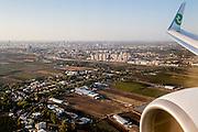 TEL AVIV - 02-11-2016, Maccabi TelAviv - AZ,  Netanya Stadion, aankomst,